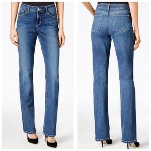 NYDJ Marilyn Straight Leg Tummy Control Jeans 14